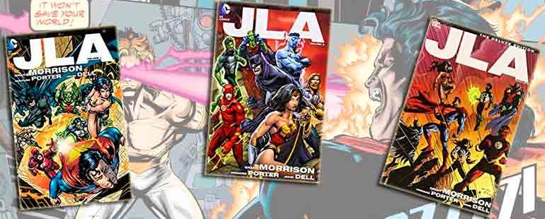 Justice League of America (JLA), download or read online - Comics